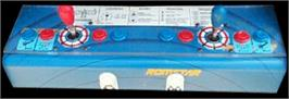 Arcade Control Panel for Raiden II.
