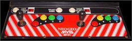 Arcade Control Panel for Real Bout Fatal Fury 2 - The Newcomers / Real Bout Garou Densetsu 2 - the newcomers.