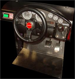 Arcade Control Panel for Ridge Racer V Arcade Battle.