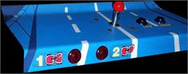 Arcade Control Panel for Road Fighter.