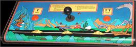 Arcade Control Panel for Road Runner.