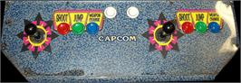 Arcade Control Panel for Rockman: The Power Battle.