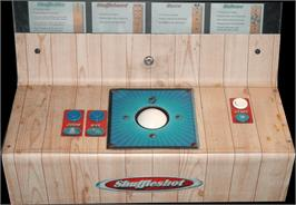 Arcade Control Panel for Shuffleshot.