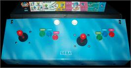 Arcade Control Panel for Sonic Championship.