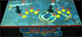 Arcade Control Panel for Soul Edge.