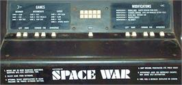 Arcade Control Panel for Space Wars.