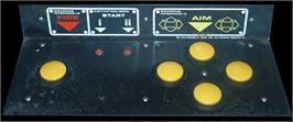 Arcade Control Panel for Space Zap.