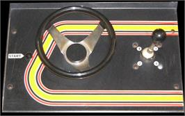 Arcade Control Panel for Speed Freak.