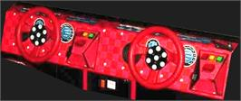 Arcade Control Panel for Speed Racer.