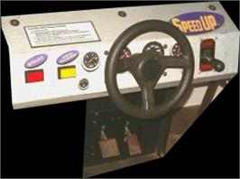 Arcade Control Panel for Speed Up.