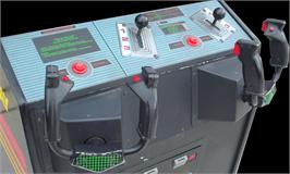 Arcade Control Panel for Spy Hunter 2.