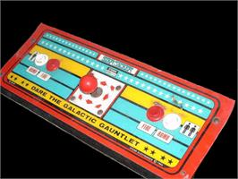Arcade Control Panel for Star Jacker.