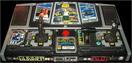 Arcade Control Panel for Star Wars Arcade.