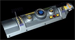 Arcade Control Panel for Star Wars Pod Racer.