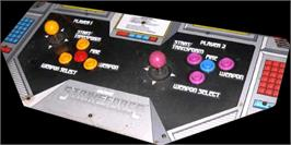 Arcade Control Panel for Strike Force.