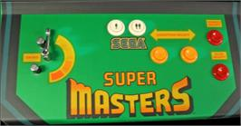 Arcade Control Panel for Super Masters Golf.