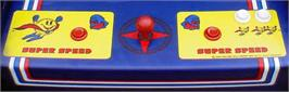 Arcade Control Panel for Super Pac-Man.