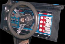 Arcade Control Panel for Super Speed Race Junior.
