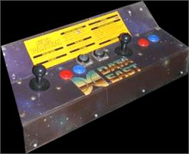 Arcade Control Panel for Super Volleyball.