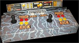 Arcade Control Panel for Tekken 3.