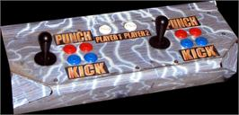 Arcade Control Panel for Tekken 4.
