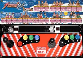 Arcade Control Panel for The King of Fighters '94.