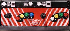 Arcade Control Panel for The King of Fighters 2001.