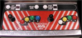 Arcade Control Panel for The King of Fighters 2002.