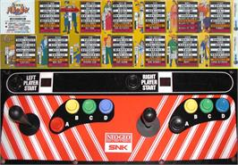 Arcade Control Panel for The Last Soldier.