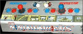 Arcade Control Panel for The Ninja Warriors.