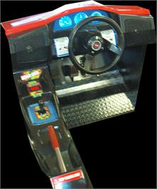 Arcade Control Panel for Thrill Drive.