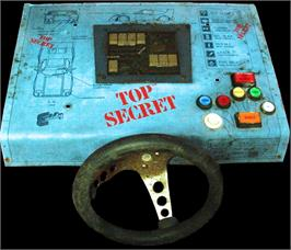 Arcade Control Panel for Top Secret.