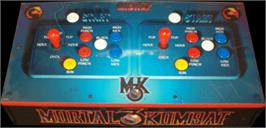 Arcade Control Panel for Ultimate Mortal Kombat 3.