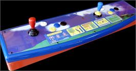 Arcade Control Panel for Virtua Tennis.