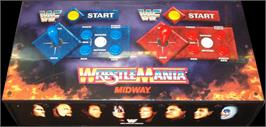 Arcade Control Panel for WWF: Wrestlemania.