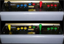 Arcade Control Panel for WWF Royal Rumble.