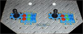 Arcade Control Panel for X-Men Vs. Street Fighter.