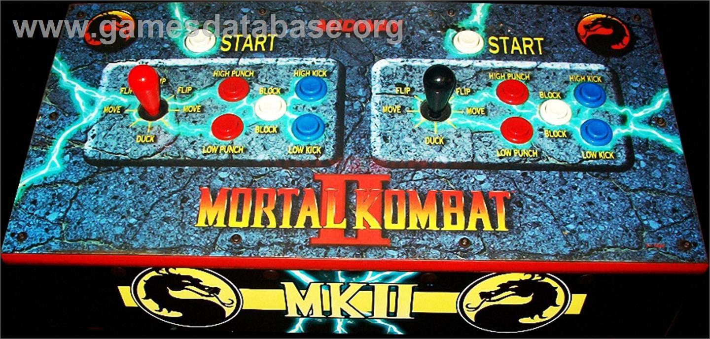 Mortal Kombat Ii Challenger Arcade Games Database