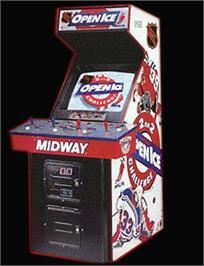 Arcade Cabinet for 2 On 2 Open Ice Challenge.