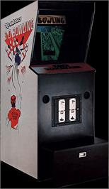 Arcade Cabinet for 3-D Bowling.