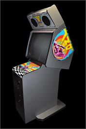 Arcade Cabinet for 720 Degrees.