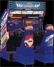 Arcade Cabinet for Ace Driver: Victory Lap.