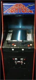 Arcade Cabinet for Aero Fighters.
