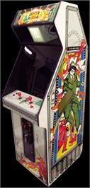 Arcade Cabinet for Agent X.
