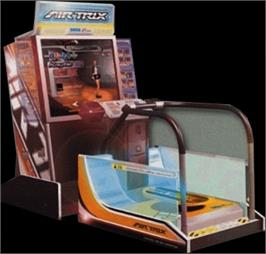 Arcade Cabinet for Air Trix.