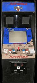 Arcade Cabinet for Airwolf.