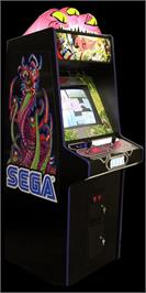 Arcade Cabinet for Alien Syndrome.