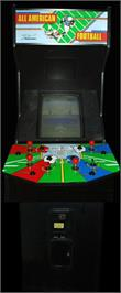 Arcade Cabinet for All American Football.