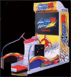 Arcade Cabinet for Alpine Racer 2.