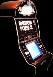Arcade Cabinet for American Poker II.